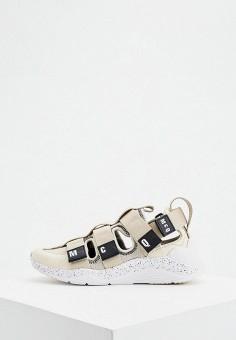 Сандалии, McQ Alexander McQueen, цвет: белый. Артикул: MC010AWJYRV7. Обувь / Сандалии