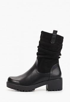 Полусапоги, Mellisa, цвет: черный. Артикул: ME030AWGVSO0. Обувь / Сапоги / Полусапоги