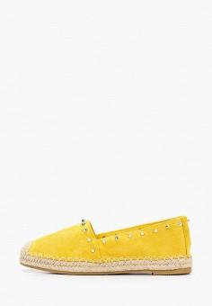 Эспадрильи, Mellisa, цвет: желтый. Артикул: ME030AWIXGT7. Обувь / Эспадрильи