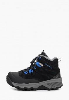 Ботинки, Merrell, цвет: черный. Артикул: ME215ABCPSE7.