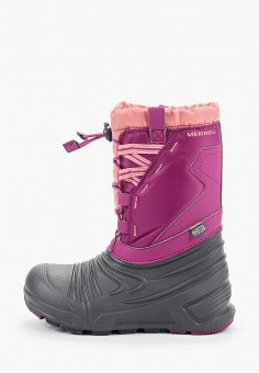 Дутики, Merrell, цвет: розовый. Артикул: ME215AGGFKO1.