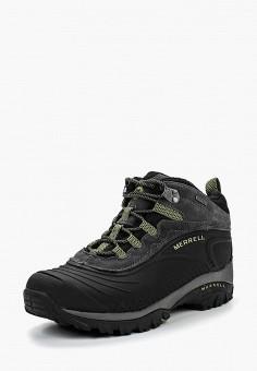 Ботинки трекинговые, Merrell, цвет: черный. Артикул: ME215AMGAO87.