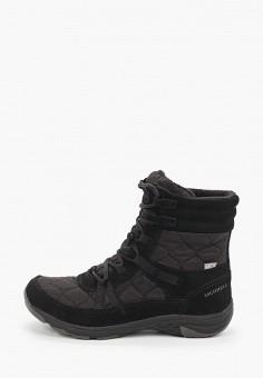 Ботинки, Merrell, цвет: черный. Артикул: ME215AWGSBA2.