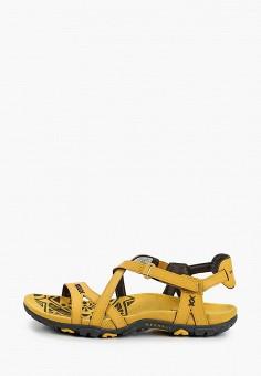 Сандалии, Merrell, цвет: желтый. Артикул: ME215AWIISI0.