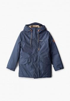 Куртка утепленная, Merrell, цвет: синий. Артикул: ME215EBHIEO4. Мальчикам / Одежда / Верхняя одежда / Куртки и пуховики