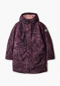 Куртка утепленная, Merrell, цвет: бордовый. Артикул: ME215EGHIEP1. Девочкам / Одежда / Верхняя одежда / Куртки и пуховики