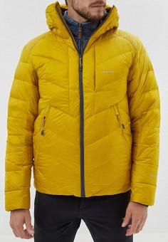 Пуховик, Merrell, цвет: желтый. Артикул: ME215EMGGDE1.