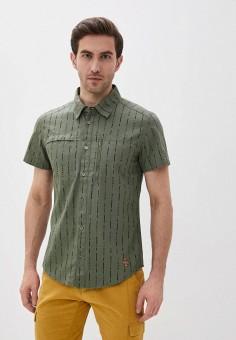 Рубашка, Merrell, цвет: хаки. Артикул: ME215EMIFWC4.