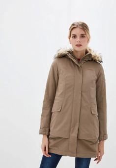 Куртка утепленная, Merrell, цвет: бежевый. Артикул: ME215EWGGDH5.