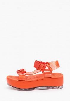 Сандалии, Melissa, цвет: красный. Артикул: ME485AWHZAT5. Обувь / Резиновая обувь