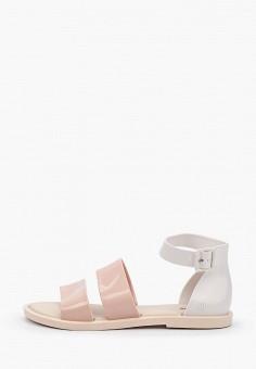 Сандалии, Melissa, цвет: розовый. Артикул: ME485AWHZBW2. Обувь / Резиновая обувь