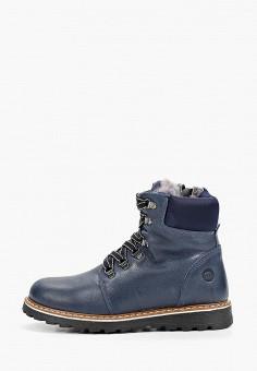 Ботинки, Melania, цвет: синий. Артикул: ME704ABFZNO9. Мальчикам / Обувь / Ботинки
