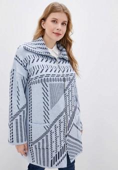 Кардиган, Milana Style, цвет: серый. Артикул: MI038EWGBAY0. Одежда / Джемперы, свитеры и кардиганы / Кардиганы