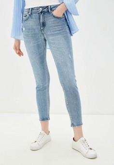 Джинсы, Miss Bon Bon, цвет: голубой. Артикул: MI045EWJBSE3. Одежда / Джинсы / Узкие джинсы