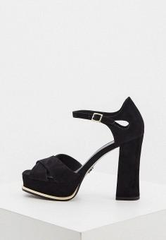 Босоножки, Michael Michael Kors, цвет: черный. Артикул: MI048AWIBLK9. Обувь / Босоножки