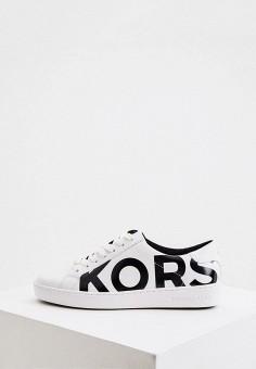 Кеды, Michael Michael Kors, цвет: белый. Артикул: MI048AWJSZA6. Обувь / Кроссовки и кеды