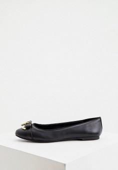 Балетки, Michael Michael Kors, цвет: черный. Артикул: MI048AWJUCO1. Обувь / Балетки