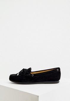 Мокасины, Michael Michael Kors, цвет: черный. Артикул: MI048AWJUCO3. Обувь / Мокасины и топсайдеры