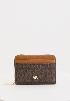 Кошелек, Michael Michael Kors, цвет: коричневый. Артикул: MI048BWHHWD2. Premium