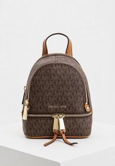 Рюкзак, Michael Michael Kors, цвет: коричневый. Артикул: MI048BWVBQ43. Аксессуары / Рюкзаки