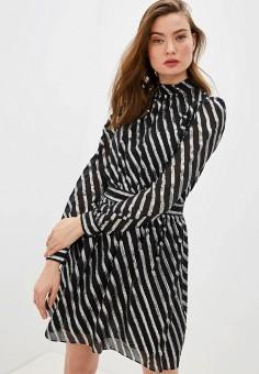 Платье, Michael Michael Kors, цвет: черный. Артикул: MI048EWHIOH2. Одежда / Платья и сарафаны / Вечерние платья