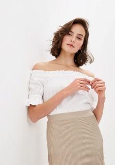 Блуза, Michael Michael Kors, цвет: белый. Артикул: MI048EWITEC1.