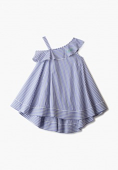 Сарафан, Miss Blumarine, цвет: синий. Артикул: MI108EGISSG8. Девочкам / Одежда / Платья и сарафаны