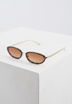 Очки солнцезащитные, Michael Kors, цвет: коричневый. Артикул: MI186DWFTSO4. Аксессуары / Очки