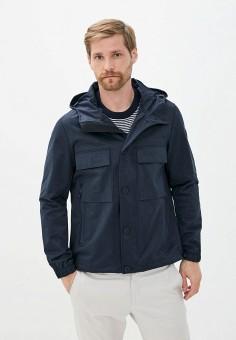 Куртка, Michael Kors, цвет: синий. Артикул: MI186EMJTVS9. Одежда / Верхняя одежда / Легкие куртки и ветровки