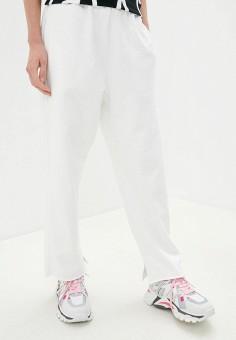 Брюки спортивные, MM6 Maison Margiela, цвет: белый. Артикул: MM004EWJROV8. Одежда / Брюки