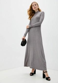 Платье, M Missoni, цвет: бежевый. Артикул: MM151EWKIRK4. Одежда / Платья и сарафаны / Вечерние платья
