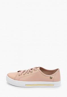 Кеды, Moleca, цвет: розовый. Артикул: MO001AWHMVO6. Обувь / Кроссовки и кеды