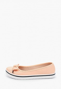 Балетки, Moleca, цвет: розовый. Артикул: MO001AWHMVP9. Обувь / Балетки