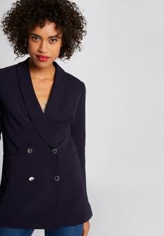 Пиджак, Morgan, цвет: синий. Артикул: MO012EWIMYZ0.