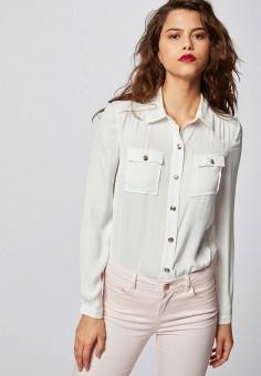 Блуза, Morgan, цвет: белый. Артикул: MO012EWIMZA3.