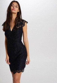 Платье, Morgan, цвет: черный. Артикул: MO012EWIMZG2.