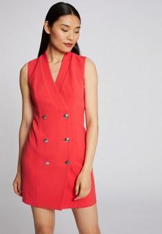 Платье, Morgan, цвет: красный. Артикул: MO012EWIMZG5.