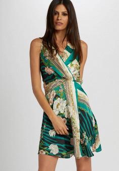 Платье, Morgan, цвет: зеленый. Артикул: MO012EWIMZM2.