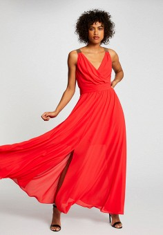 Платье, Morgan, цвет: красный. Артикул: MO012EWIMZN3.