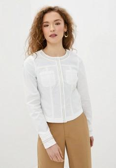 Куртка, Morgan, цвет: белый. Артикул: MO012EWJGHS2.