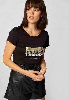 Блуза, Morgan, цвет: черный. Артикул: MO012EWJTBL5.