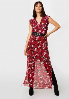 Платье, Morgan, цвет: бордовый. Артикул: MO012EWJTBU2.
