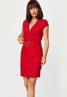 Платье, Morgan, цвет: красный. Артикул: MO012EWJTBU7.