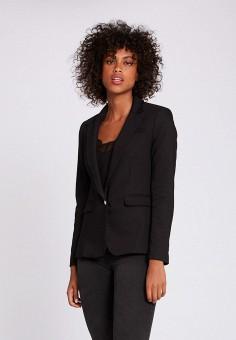 Пиджак, Morgan, цвет: черный. Артикул: MO012EWJTBV2.