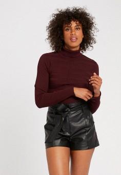 Водолазка, Morgan, цвет: бордовый. Артикул: MO012EWJYDH3. Одежда / Джемперы, свитеры и кардиганы / Водолазки