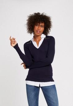Пуловер, Morgan, цвет: синий. Артикул: MO012EWJYDH5.