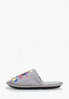 Тапочки, Modis, цвет: серый. Артикул: MO044AGERJM9.