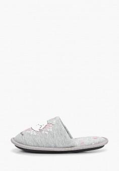 Тапочки, Modis, цвет: серый. Артикул: MO044AKEFTW5.