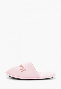 Тапочки, Modis, цвет: розовый. Артикул: MO044AWEFTY2. Обувь / Домашняя обувь