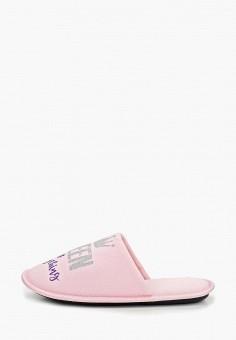 Тапочки, Modis, цвет: розовый. Артикул: MO044AWEFTY3. Обувь / Домашняя обувь